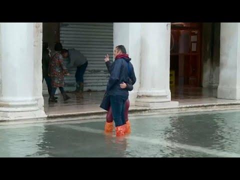 شاهد: البندقية الغارقة تخشى ارتفاع منسوب المياه مجددا  - نشر قبل 23 ساعة