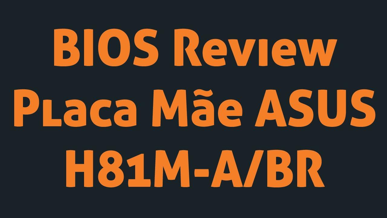 Kit asus intel h81m a br lga 1150 memoria 8gb 1600mhz ddr3 r 629 - Bios Review Placa M E Asus H81m A Br