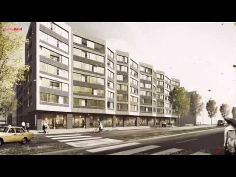 """Berlin builts: new urban quarter """"Europacity"""""""