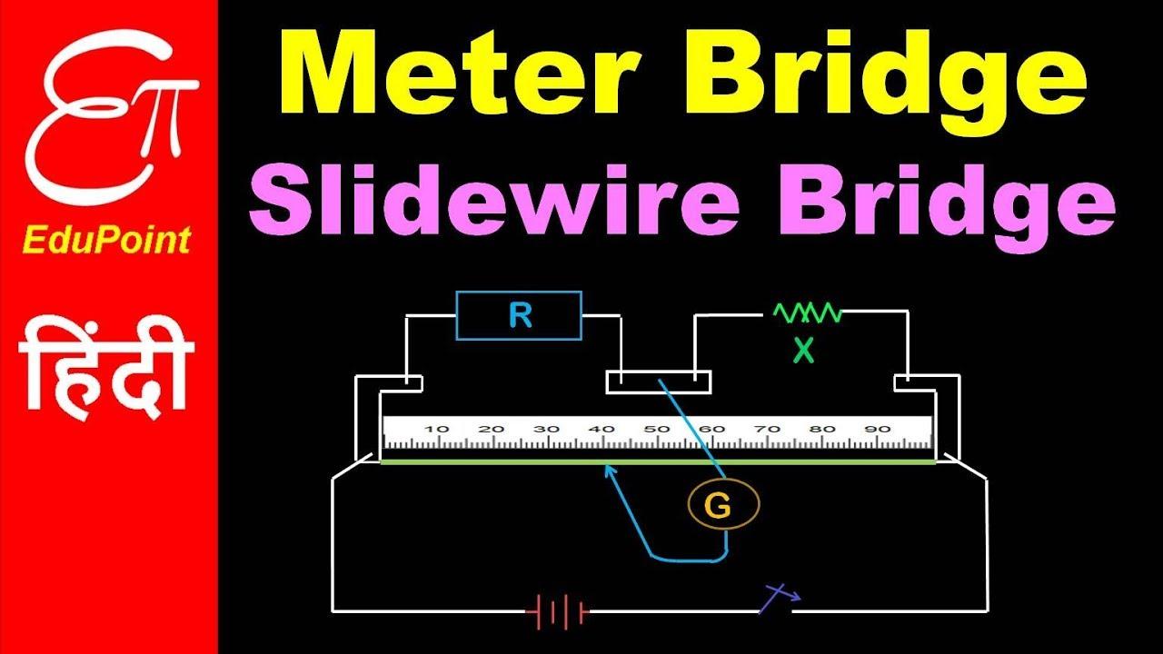 Meter Bridge Or Slidewire Bridge