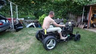 DIY small CAR - first drive