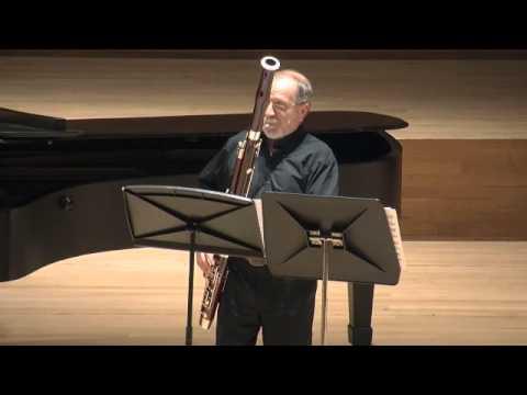 Valery Popov Recital Bassoon