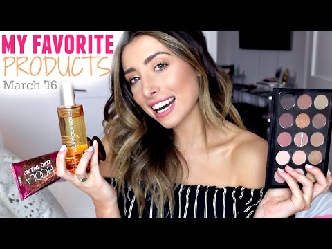 MY FAVORITE BEAUTY PRODUCTS! MARCH 2016