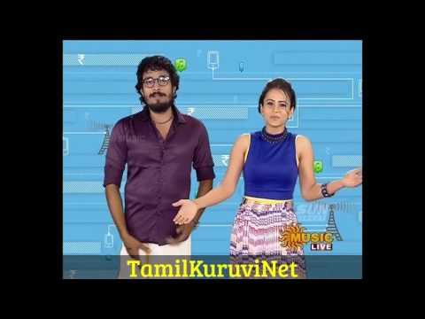 Sun music 12 birthday Special Show HD Video Vj Manimegalai & Thurai ,2016