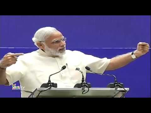 PM Narendra Modi at the National Meet on Promoting Space Technology in Governance and Development