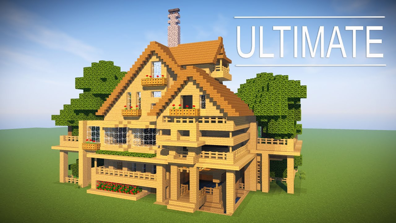 How to transform your minecraft house into the ultimate for Easy homes to build