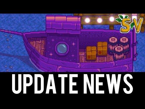 Mysterious 1.3 Stardew Valley Spoiler! Content Update 2017
