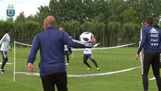 Video: Rusia 2018: Primer entrenamiento de la Selección en el Bronnitsy Training Centre
