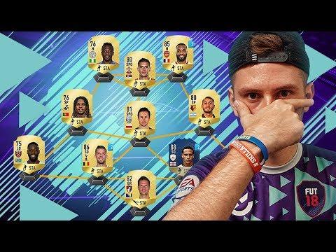 PIERWSZY SKŁAD! - FIFA 18 ULTIMATE TEAM