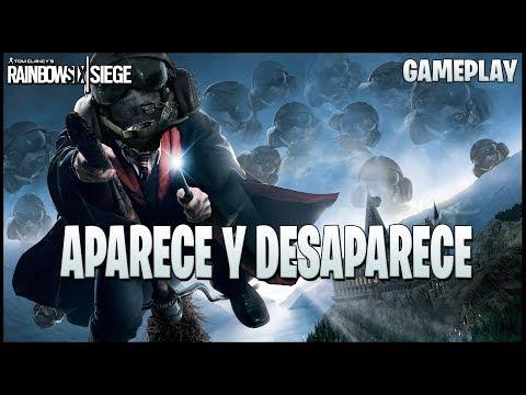 APARECE Y DESAPARECE MAGIA EN R6 ◄► Caramelo Rainbow Six Siege Gameplay Español