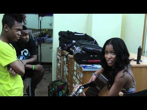 Simone Battle Singing Irreplaceable