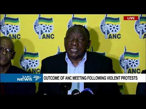 ANC to engage further on the Mahumapelo matter - Pres. Ramaphosa