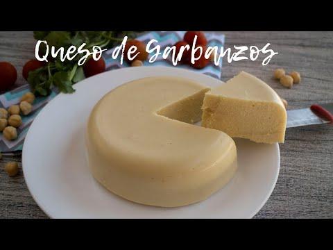 """""""QUESO"""" DE GARBANZOS /VEGANO Y DELICIOSO"""