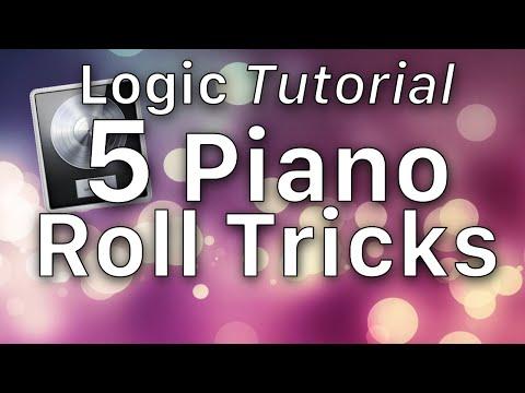 5 Piano Roll Tricks in Logic Pro X Tutorial