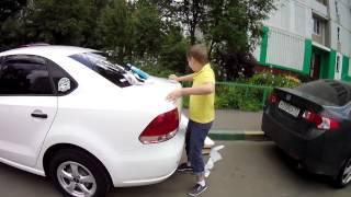 спойлер TOPiCAR для VW POLO Sedan