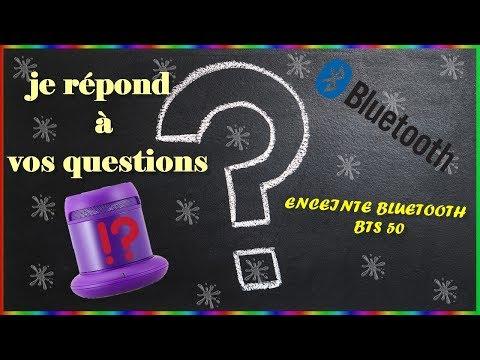 Je Répond à Vos Questions Enceinte Bluetooth Carrefour Bts 50