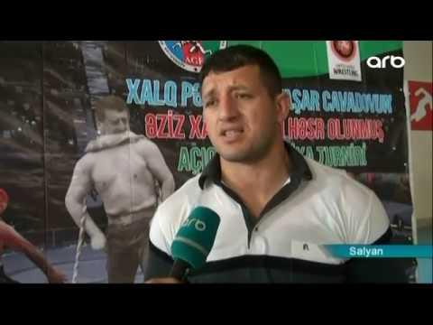 Salyanda el pəhləvanı Yaşar Cavadovun xatirəsinə sərbəst güləş üzrə turnir keçirilib