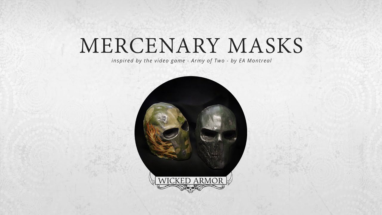 Army of Two Masks - YouTube