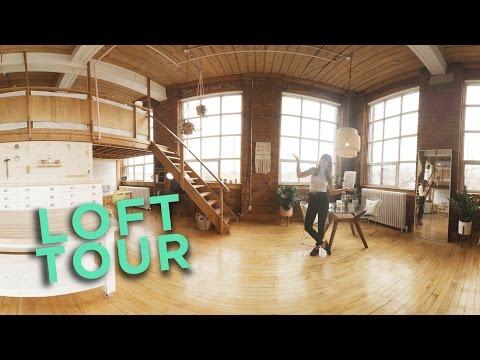 LIVE / WORK LOFT TOUR | 360° ODYSSEY