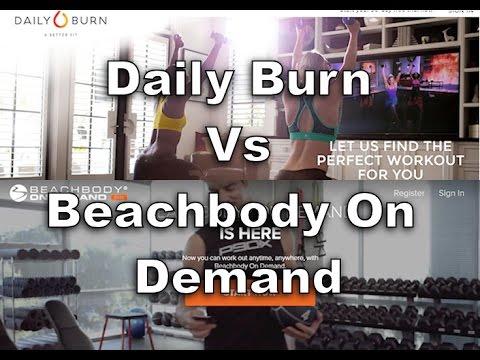 What You Get With Daily Burn & Beachbody On Demand Membership