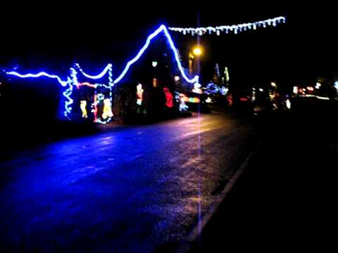 eathorpe village christmas lights 2011