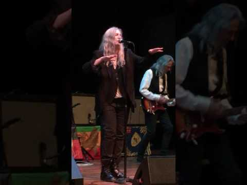 Patti Smith - Horses & Gloria live in Melbourne Australia 2017