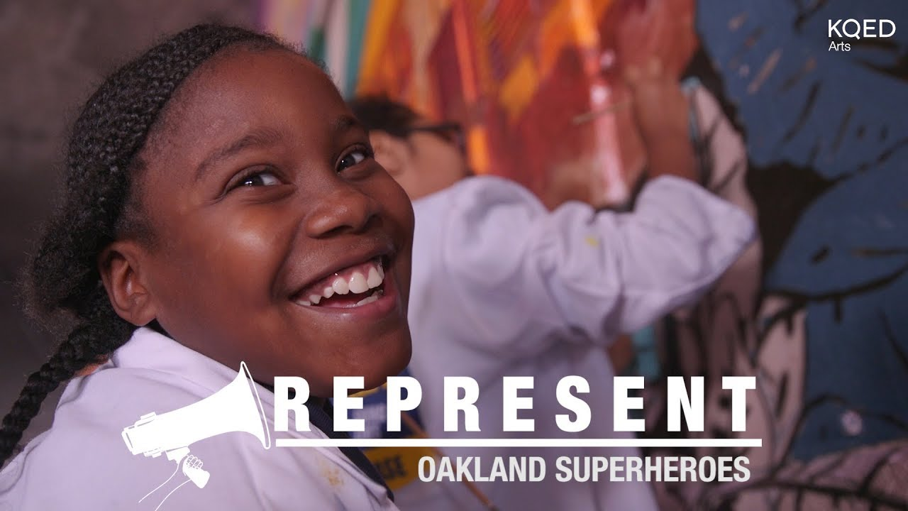 Young Oakland Superheroes Fight for Their Mural | KQED Arts