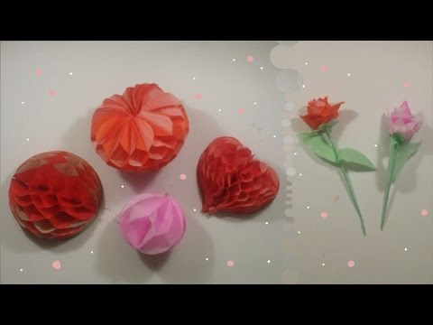 San valentino decorazioni tutorials mediatour youtube - Decorazioni san valentino ...
