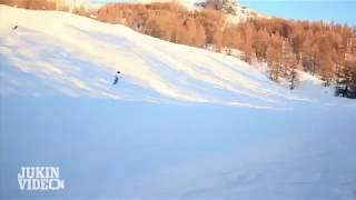 Потерянная Лыжа Сбила Лыжника 100500
