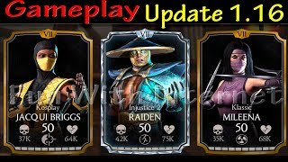 Mortal Kombat X Mobile Update 1.16 (New Game Mode-QUESTS FOR DAYS ) Unreleased Characters