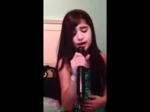 Adele's someone like you.Niece singing. Superstar.Just like Adele