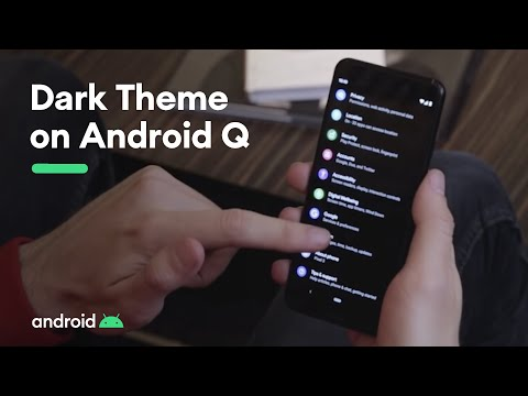 Android Q: Dark Theme is here