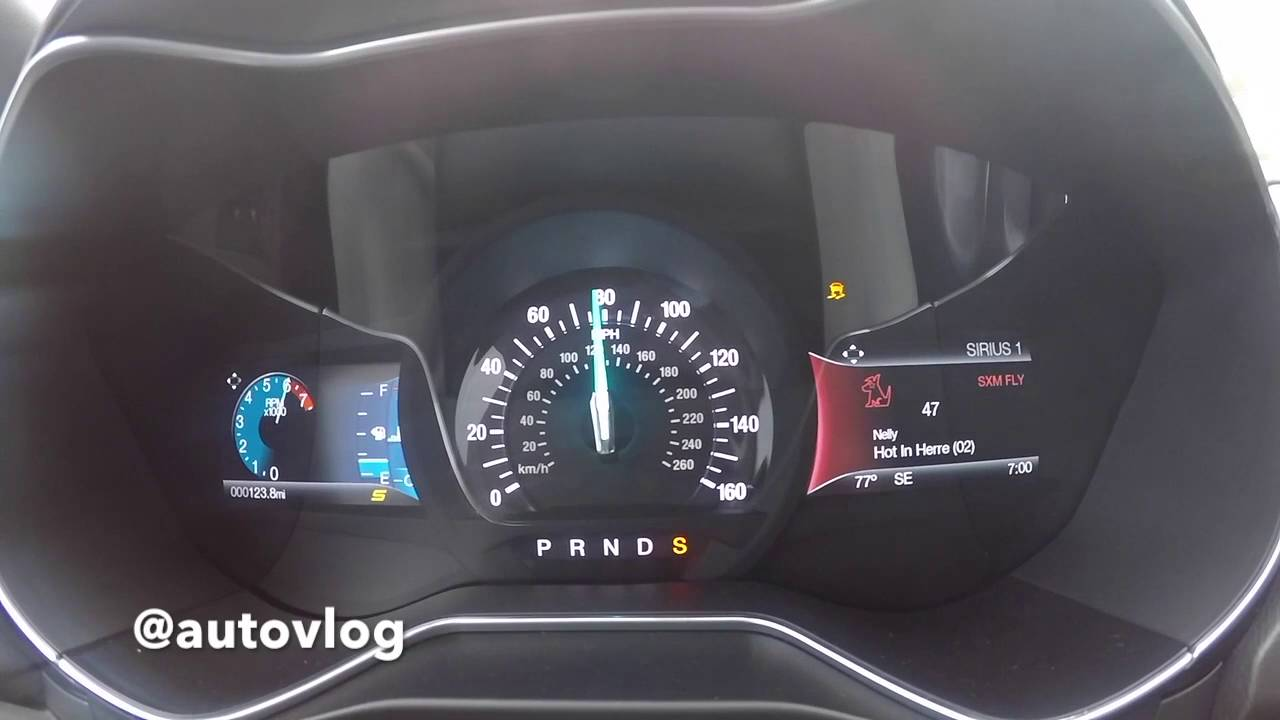 2017 Ford Fusion Sport 0 100 Mph Youtube