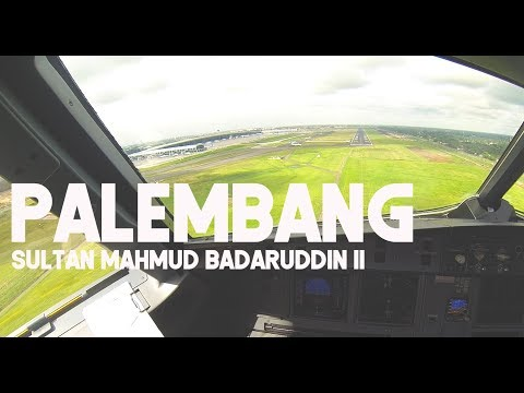 Palembang to Jakarta - by Captain Vincent Raditya ( BATIK AIR PILOT ) - Cockpit Video
