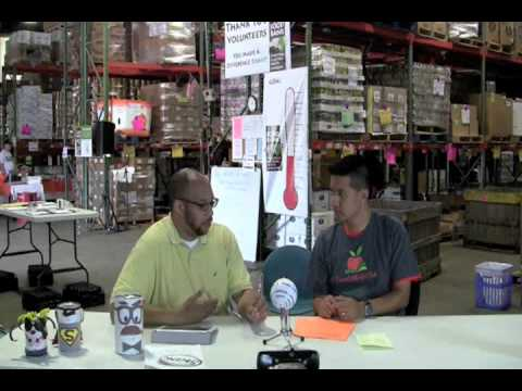 24 Hour Telethon: Greg Chats with Brad from the Food Bank