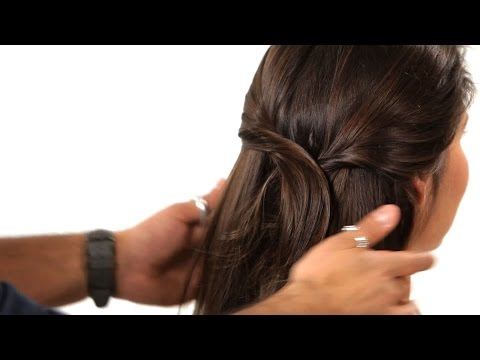 How To Do Hair For A Job Interview | Salon Hair Tutorial