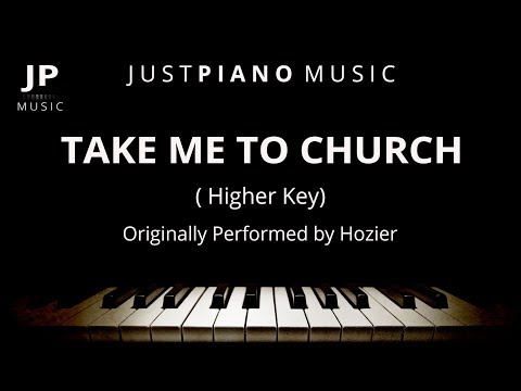 Take Me To Church by Hozier - Female Key (Piano Accompaniment)