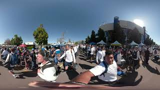 BYU Football - Experience the BYU Football Cougar Walk! - 360 Video