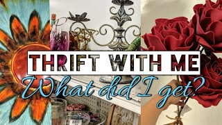 Goodwill  Home Decor Thrift Shopping with Me & Thrifted Giveaway!