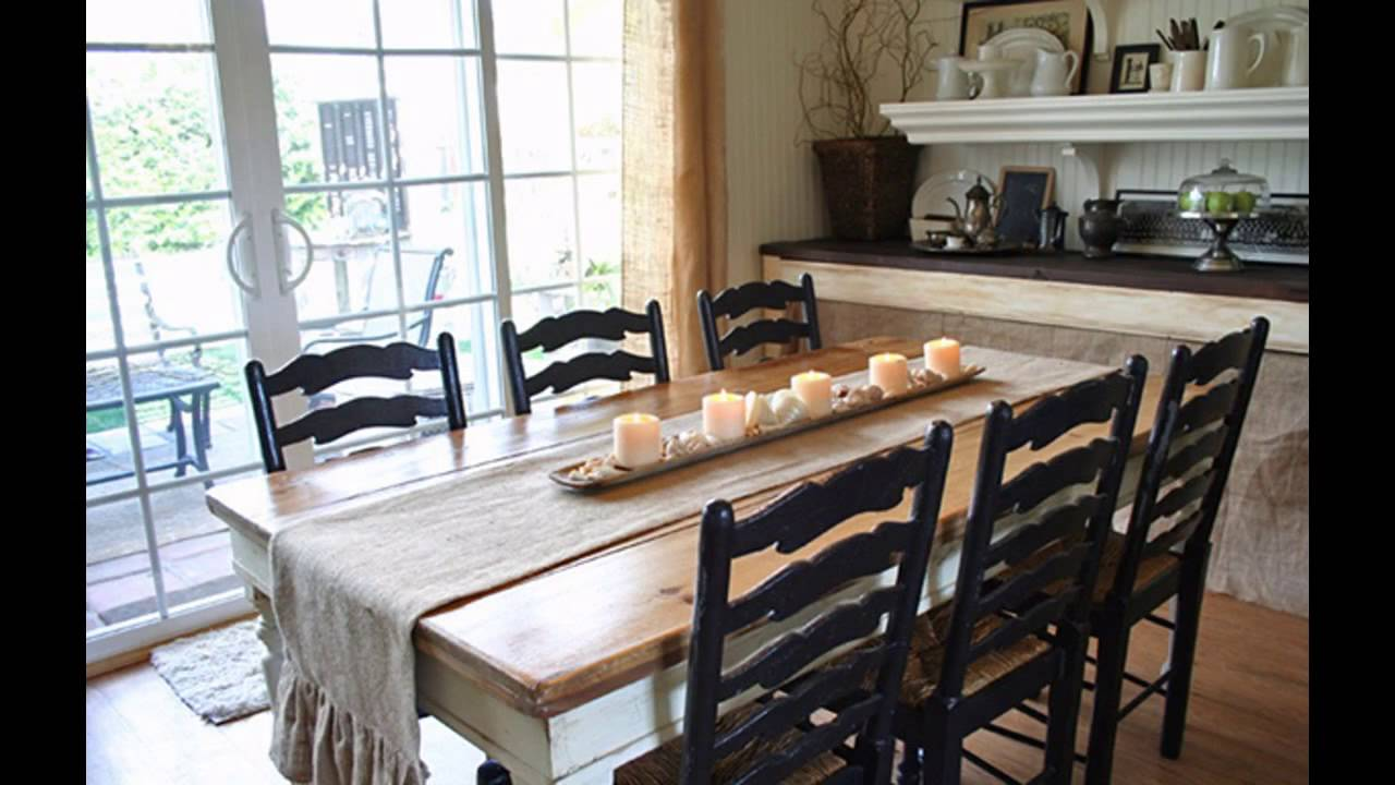 Fascinating Country style dining room decorating ideas