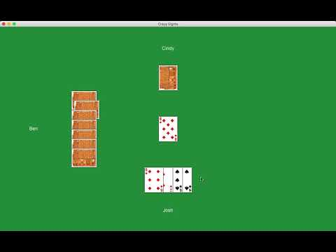 Basic Java Programming - Crazy Eights Tutorial