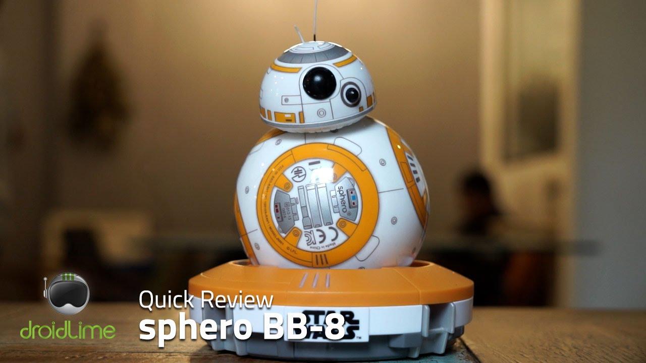 Sphero BB 8 - Robot Pintar Star Wars dengan Kendali Smartphone - YouTube 8585a286a1