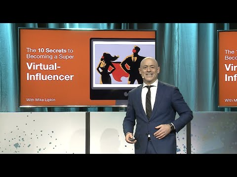 Watch Mike talk about becoming a Super Virtual Influencer