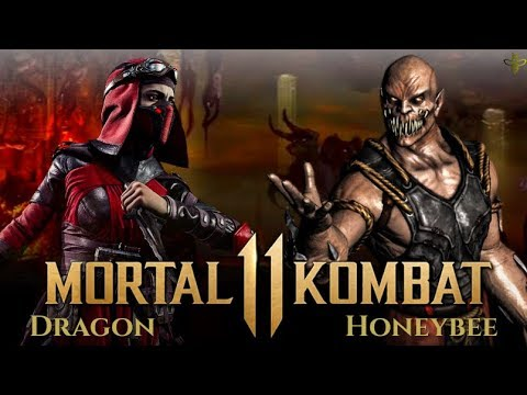 HIGH LEVEL MORTAL KOMBAT 11!  Dragon (Skarlet) vs HoneyBee (Baraka) thumbnail