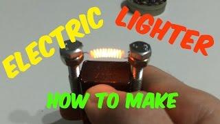 dIY: Как Сделать Зажигалку Электрическую