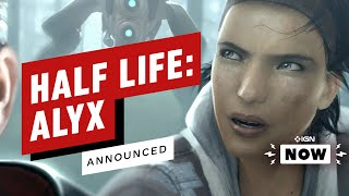 Valve Officially Announces Half-Life: Alyx VR Game, Reveal Later This Thursday - IGN Now