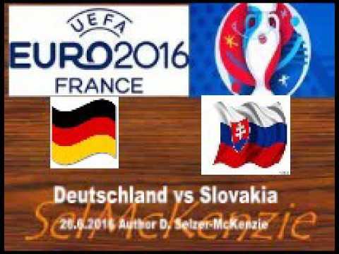 Euro 2016 Deutschland vs Slovakia 26.6.2016