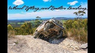 Wheel lifting and limiter bashing - 4x4 Tasmania - North West Coast Trip