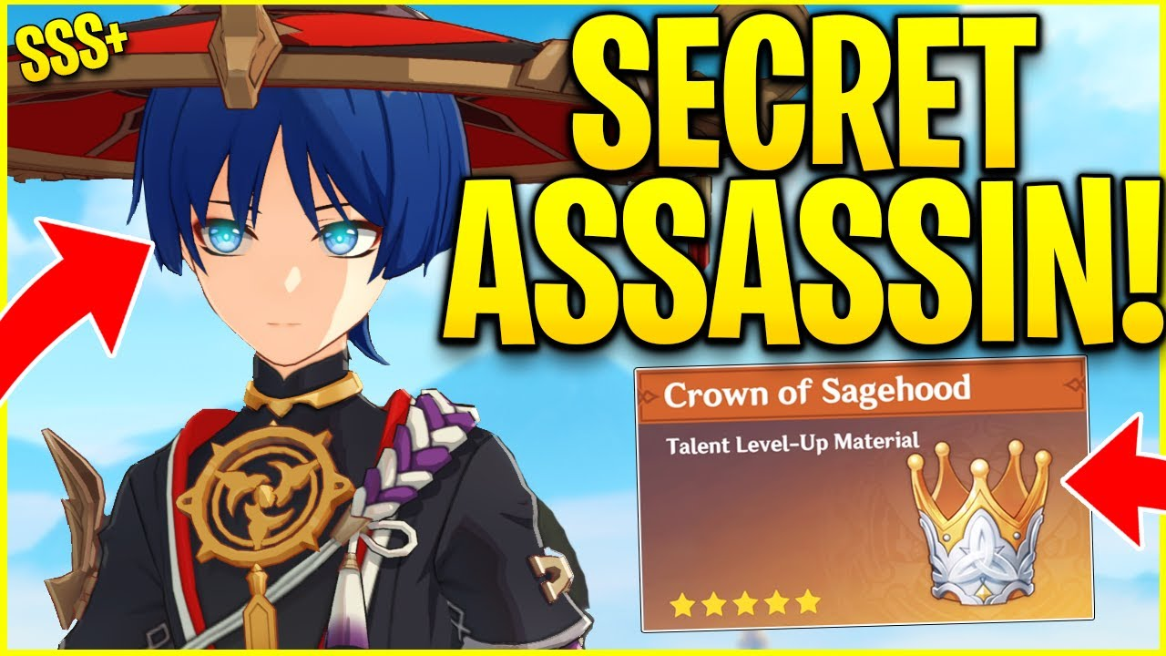 *NEW* LEAKED CHARACTER SCARAMOUCHE TRIES TO ASSASSINATE LUMINE! Genshin Impact