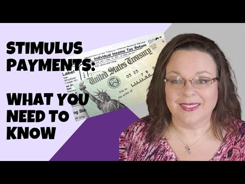 STIMULUS PAYMENTS | WHAT YOU NEED TO KNOW